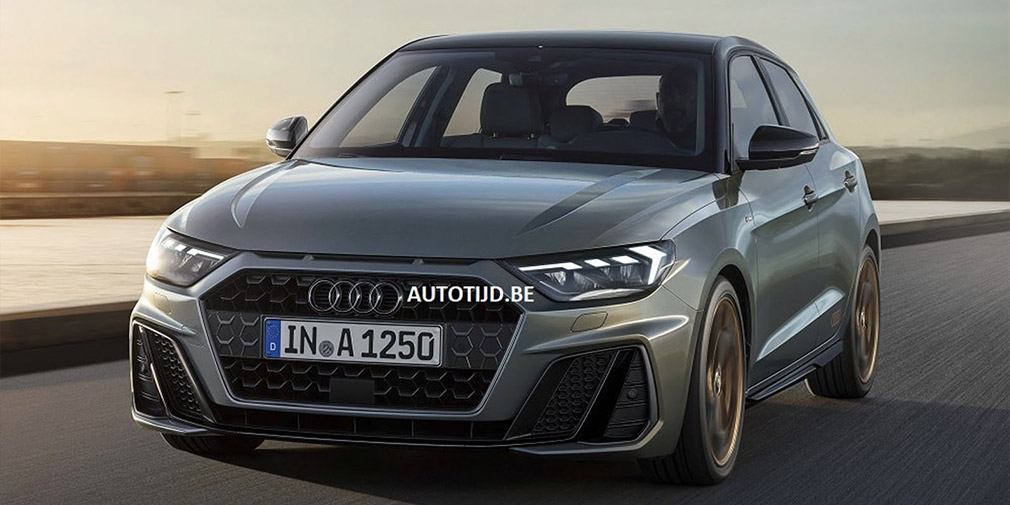 В Сети появились первые фото хэтчбека Audi A1 нового поколения
