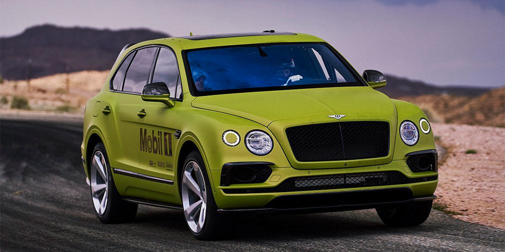 Гоночный внедорожник Bentley Bentayga «потерял» 300 кг роскоши