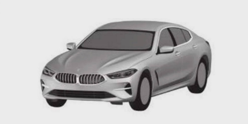 BMW запатентовала изображение BMW 8-Series Gran Coupe