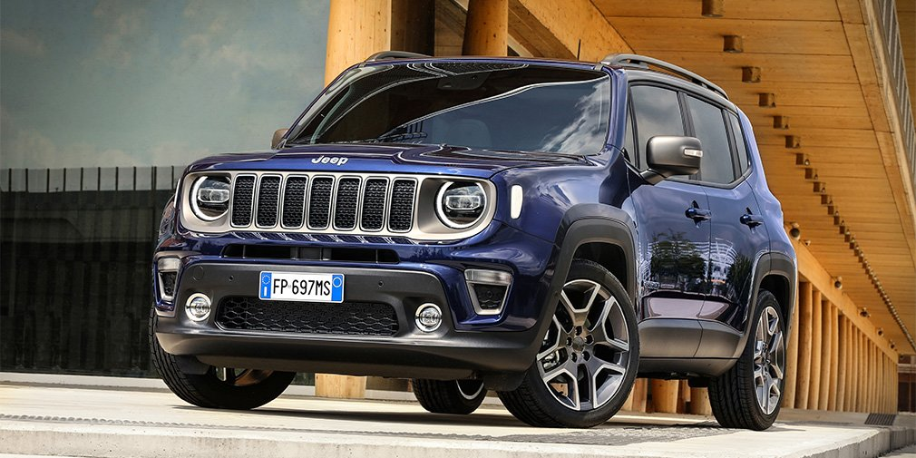 Jeep рассказал об обновленном кроссовере Jeep Renegade
