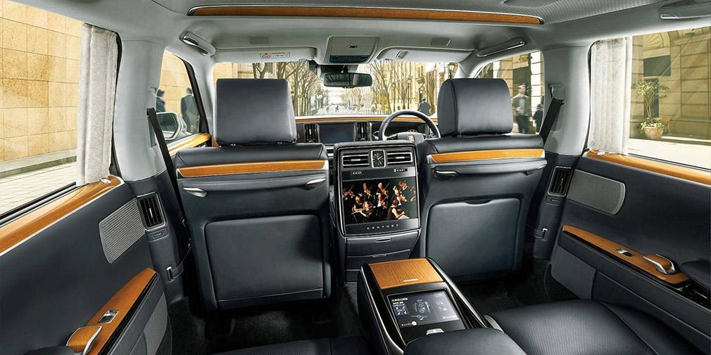 Новую Toyota Century оценили в 11,3 млн рублей