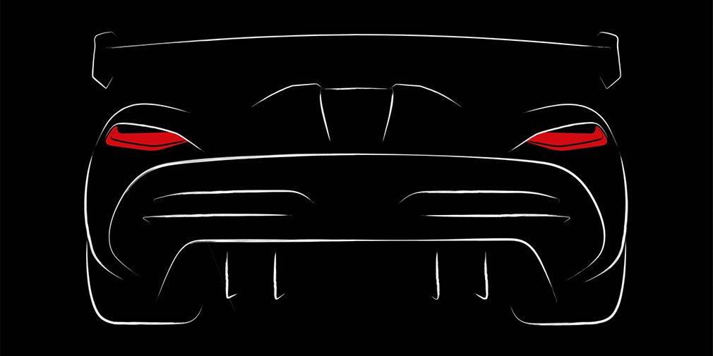 Koenigsegg показала первый тизер нового гиперкара
