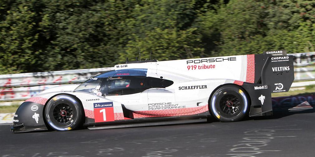 Porsche 919 Hybrid Evo установил абсолютный рекорд Нюрбургринга