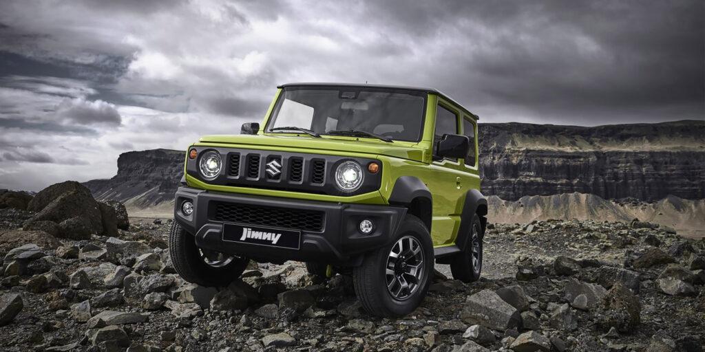 В Suzuki раскрыли технические характеристики нового внедорожника Jimny