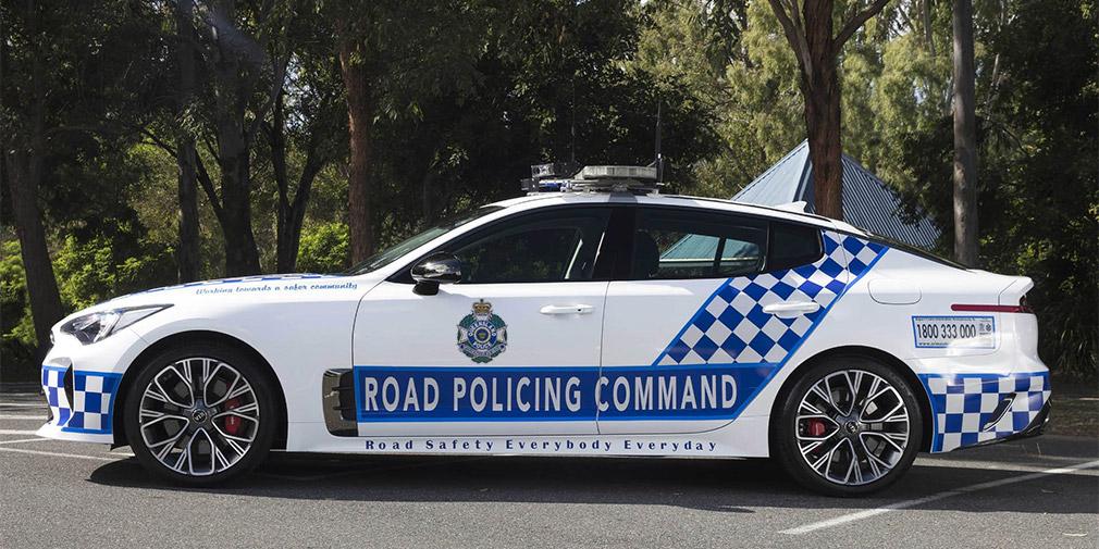 Kia поставила 50 Kia Stinger для службы в полиции Австралии