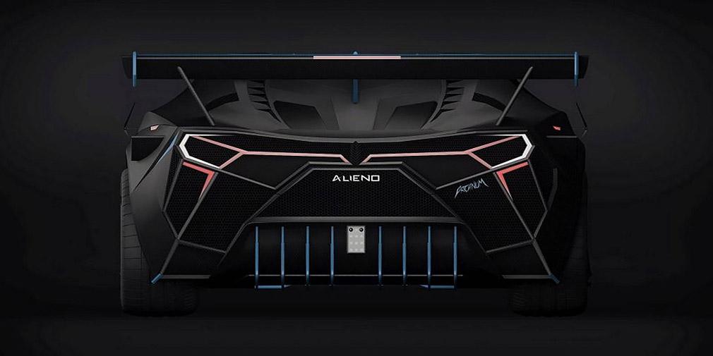 В Болгарии создали электрический 5239-сильный гиперкар Alieno Arcanum