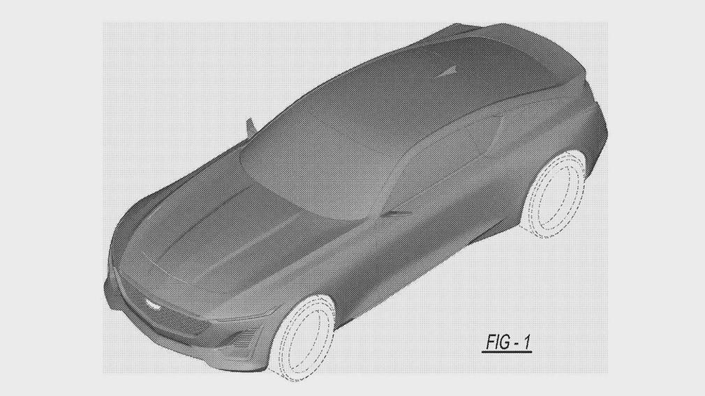 Компания Cadillac запатентовала новое роскошное купе