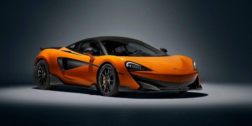 600-сильный суперкар McLaren 600LT разгонится до сотни за 2,9 секунды
