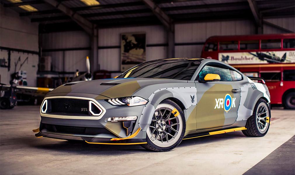 Ford привезет в Гудвуд уникальный Eagle Squadron Mustang GT и Mustang Bullit