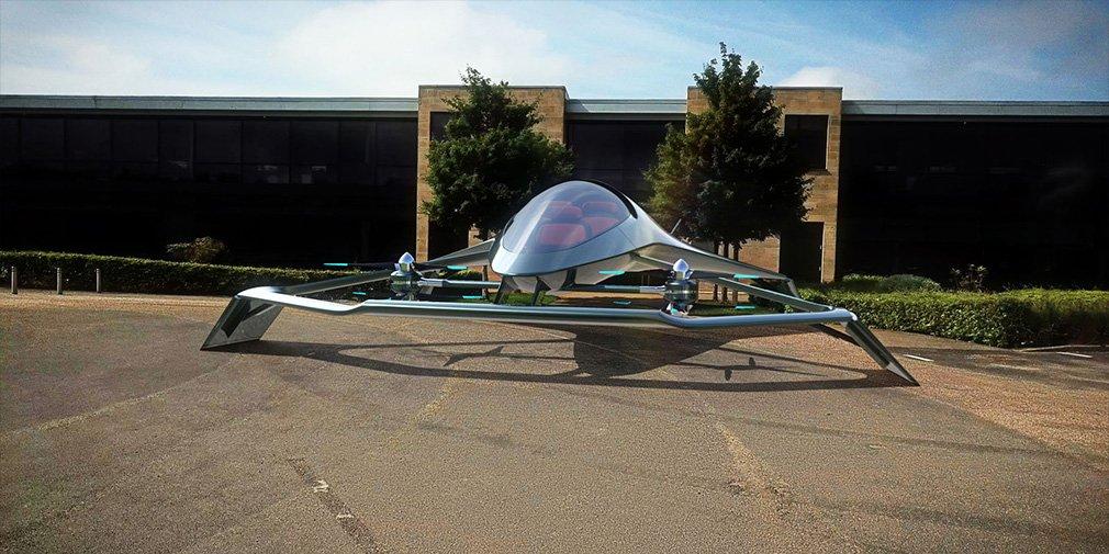 В Aston Martin показали летающий автомобиль Volante Vision
