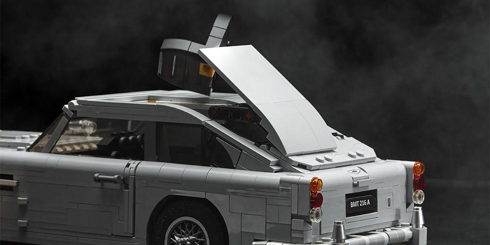 Lego выпустила копию Aston Martin DB5 Джеймса Бонда
