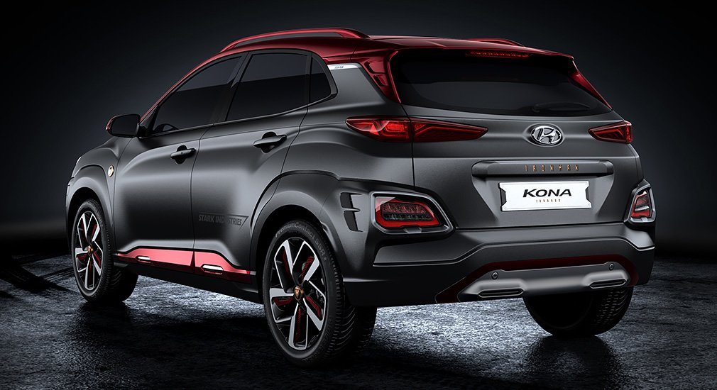 Hyundai показала кроссовер Kona в стиле Железного человека