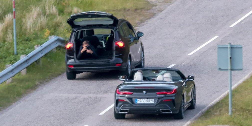 Новый кабриолет BMW 8-Series «засветился» без камуфляжа