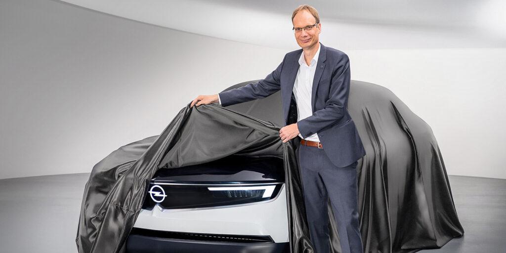 Новый прототип Opel GT X Experimental представили на видеотизере