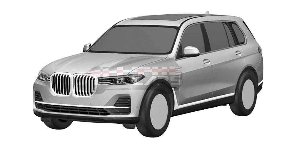 BMW представит серийную версию нового кроссовера BMW X7 в октябре