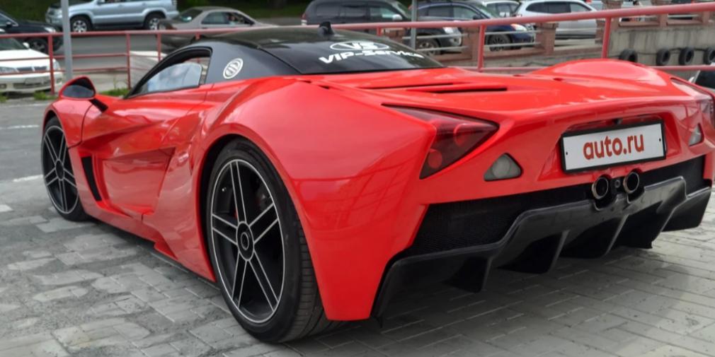 Российский спорткар Marussia продают за 10 млн рублей