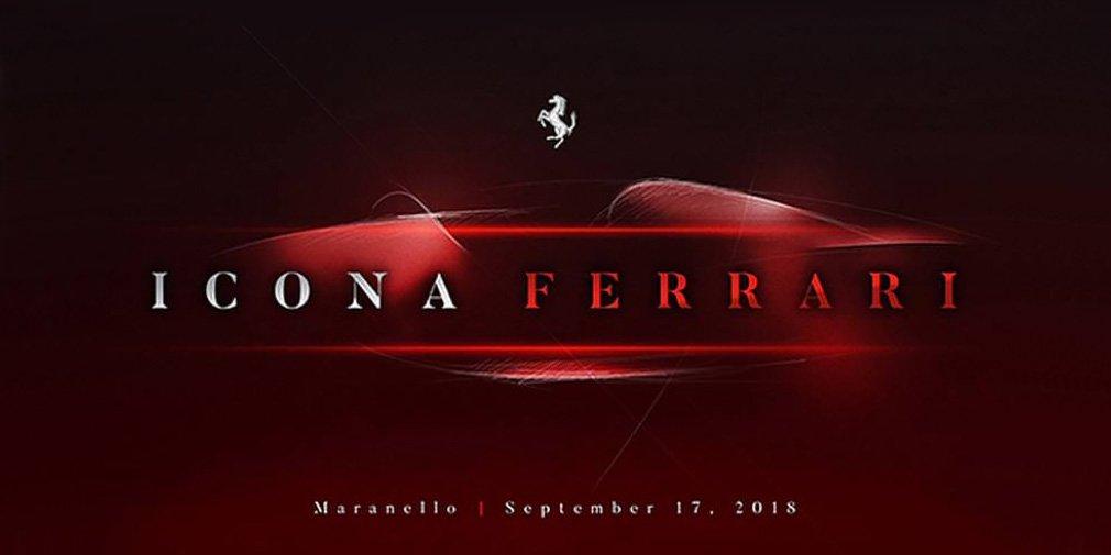 В сентябре Ferrari представит новый суперкар
