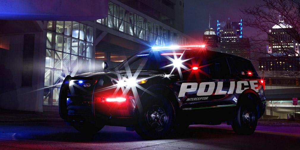 Названы технические характеристики полицейского внедорожника Ford Explorer