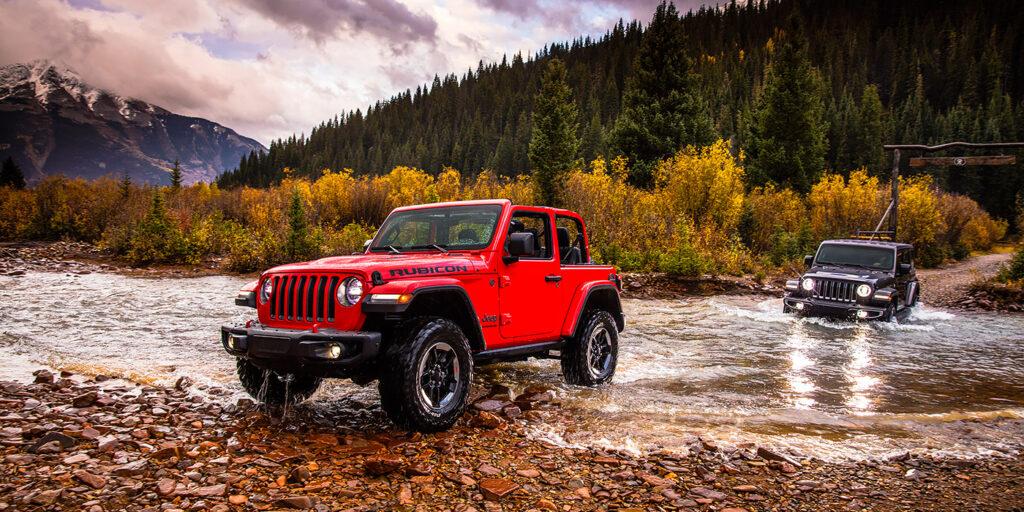 Объявлены рублевые цены на новый внедорожник Jeep Wrangler