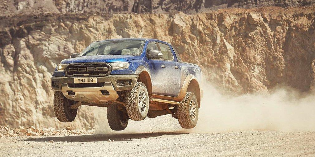 Ford представила 213-сильный пикап Ford Ranger Raptor для Европы