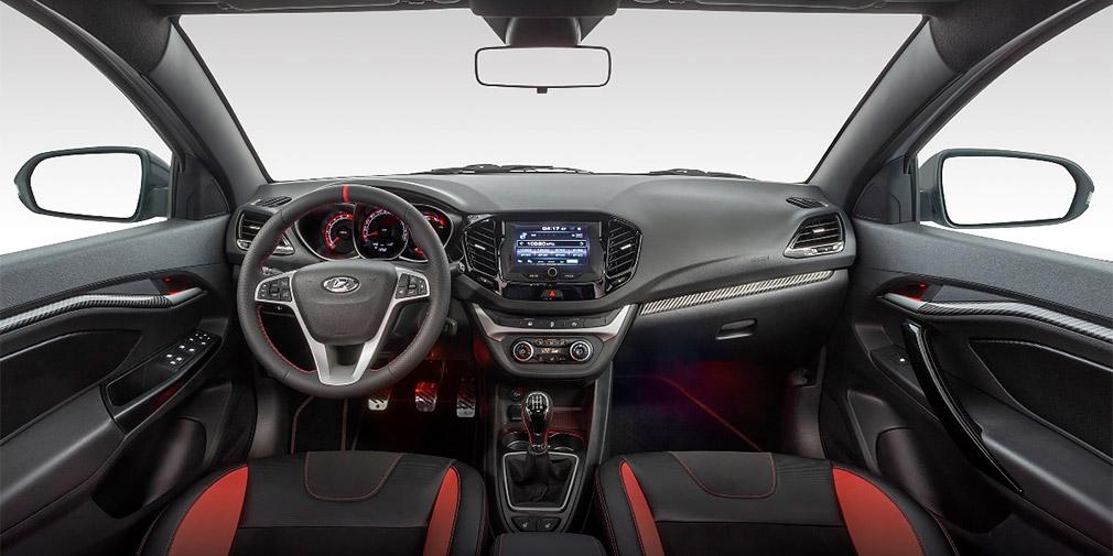 «АвтоВАЗ» презентовал новый интерьер седана Lada Vesta Sport