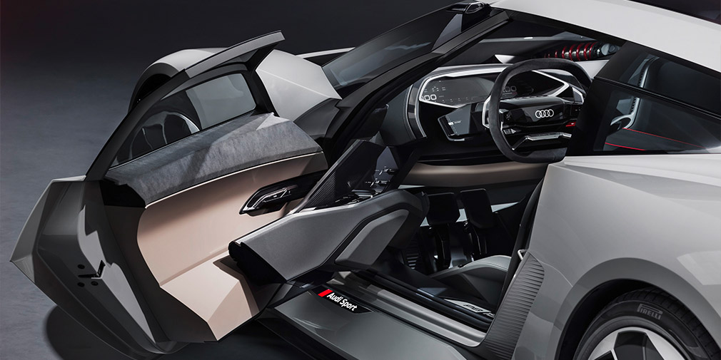 Audi показал электрический концепт спорткара Audi PB18 e-tron