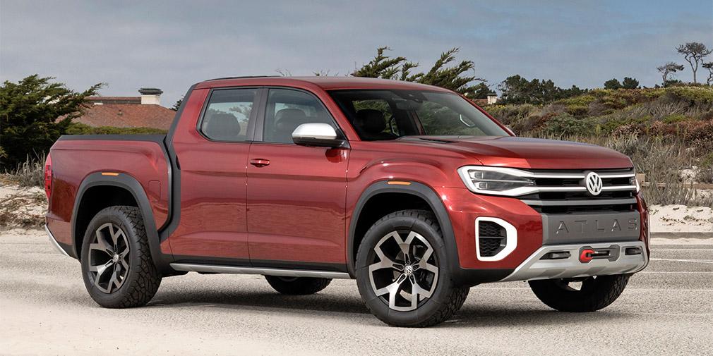 Volkswagen показал новые кроссоверы Atlas Cross Sport и Atlas Tanoak