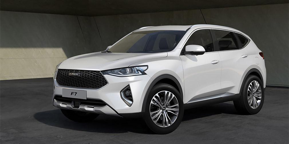 Haval F7 стал самым доходным китайским автомобилем в России