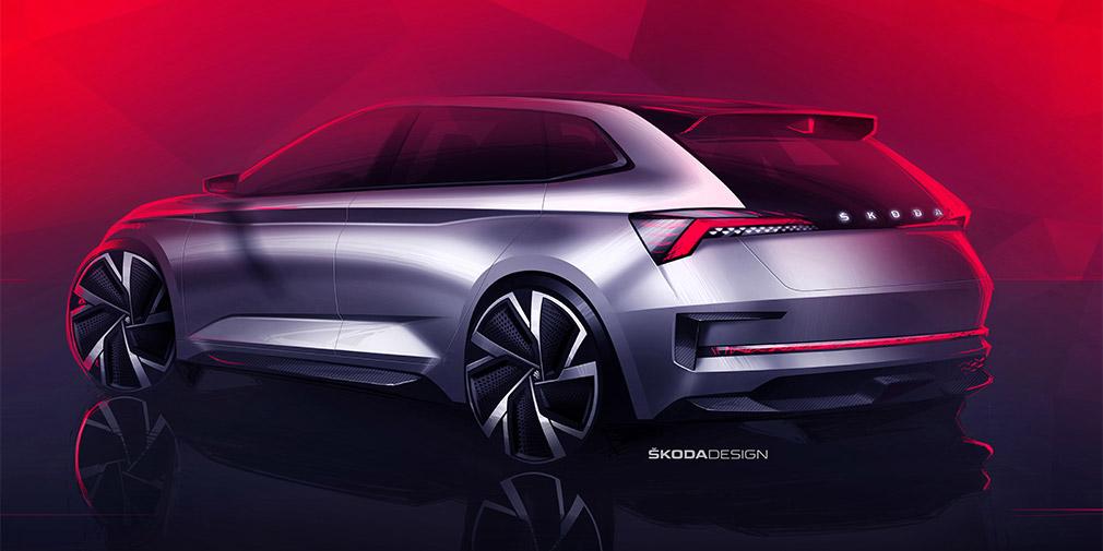 Skoda представит в Париже новый концепт Skoda Vision RS