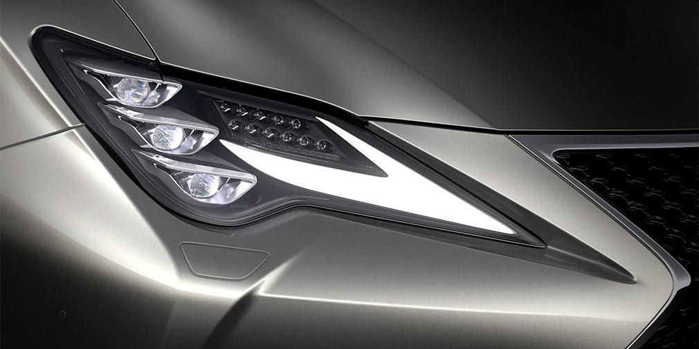Двухдверный Lexus RC стал ближе к флагманскому купе Lexus LC