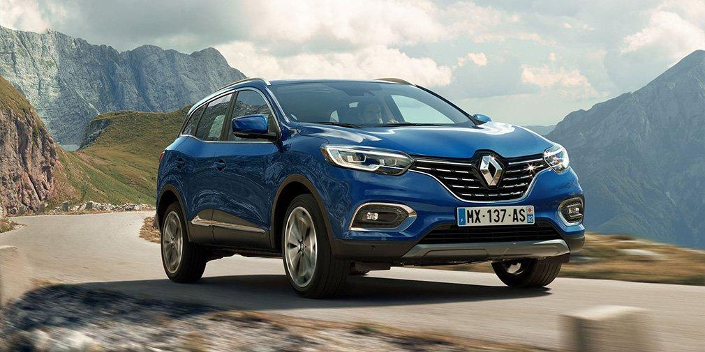 Обновленный кроссовер Renault Kadjar представлен официально