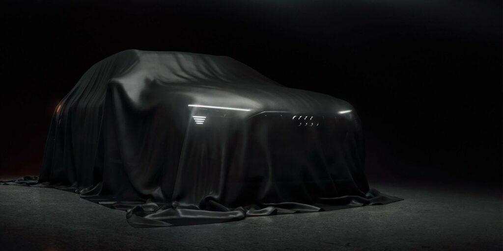 Первый электрический кроссовер Audi представлен на новом тизере