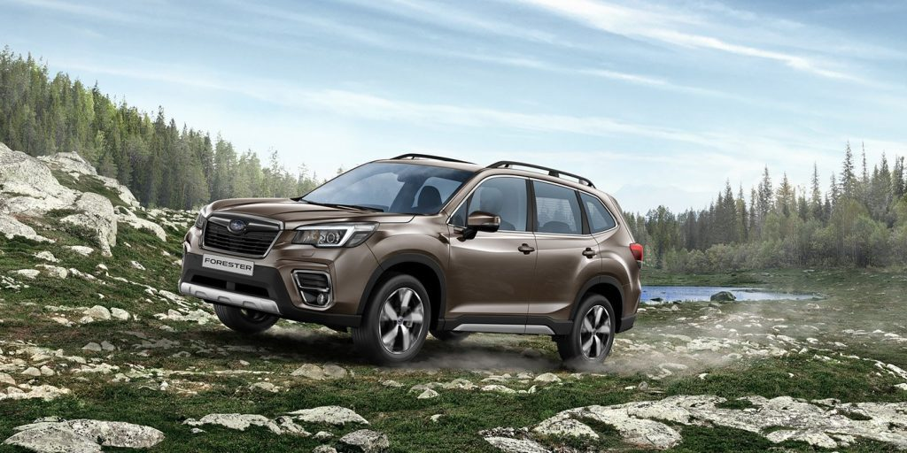 Начались российские продажи обновленного Subaru Forester