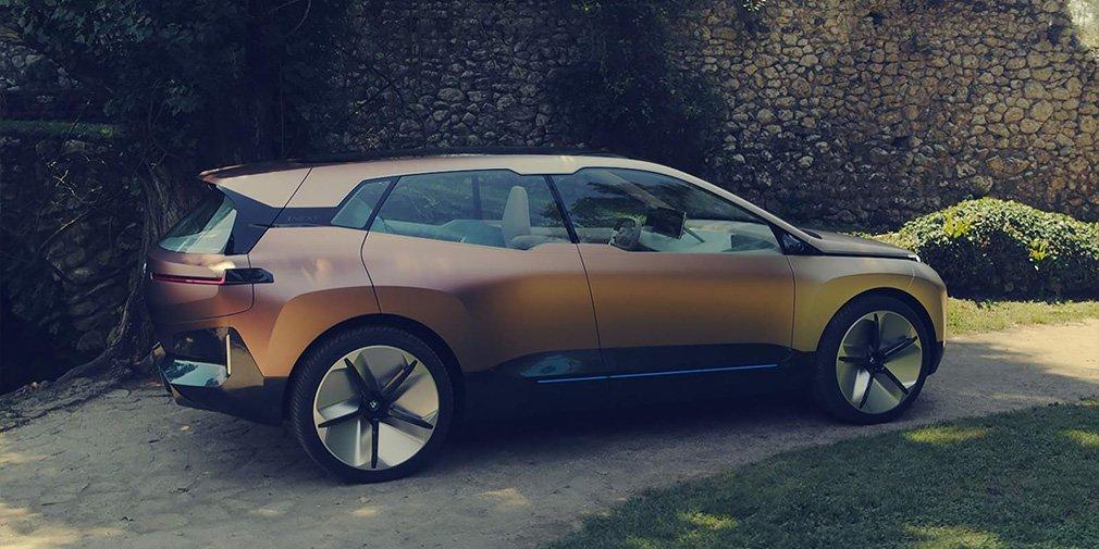 Дизайн электрокроссовера BMW iNext полностью раскрыт до премьеры