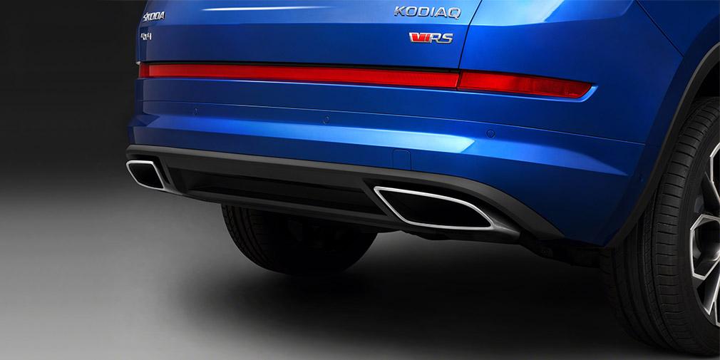 «Заряженный» Skoda Kodiaq RS получил 20-дюймовые колесные диски