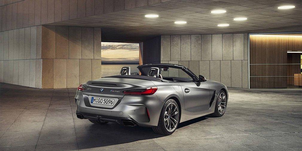 BMW назвала российские цены на новое поколение родстера BMW Z4