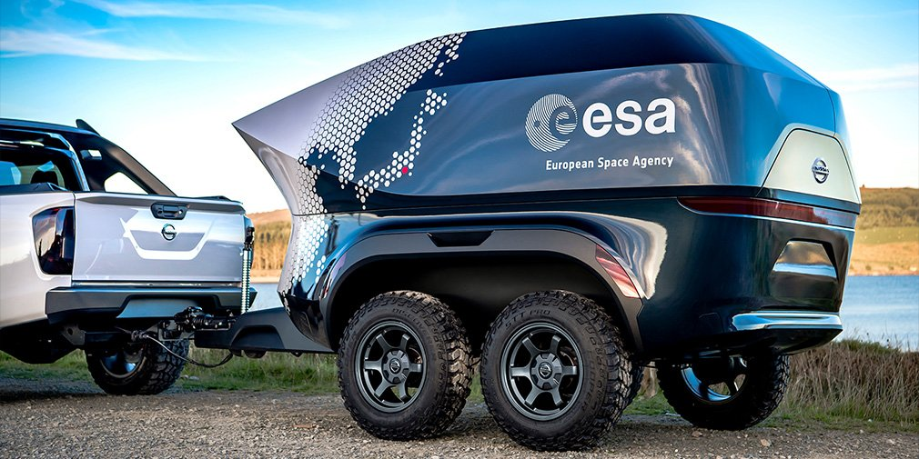 Nissan выпустил пикап Nissan Navara для астрономов