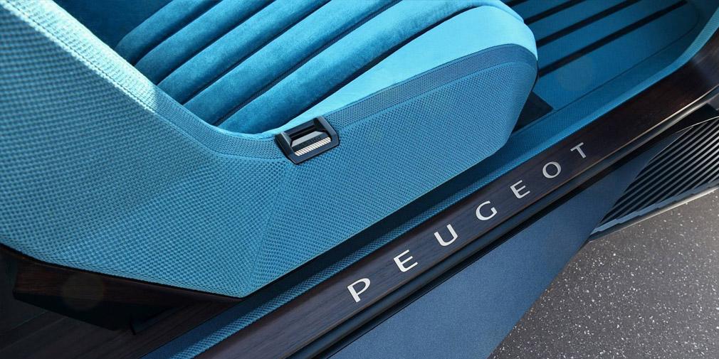 В Peugeot официально представили концепт в стиле автомобилей 1970-х