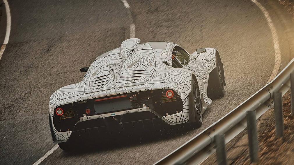 Mercedes-AMG вывела на тесты 1000-сильный гиперкар Project One