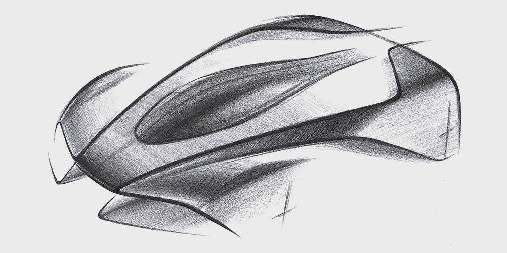 В Aston Martin анонсировали новый гиперкар с активной аэродинамикой