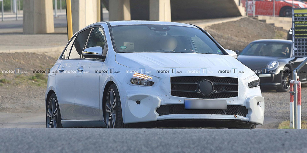 Mercedes-Benz представит на мотор-шоу в Париже новый B-Class