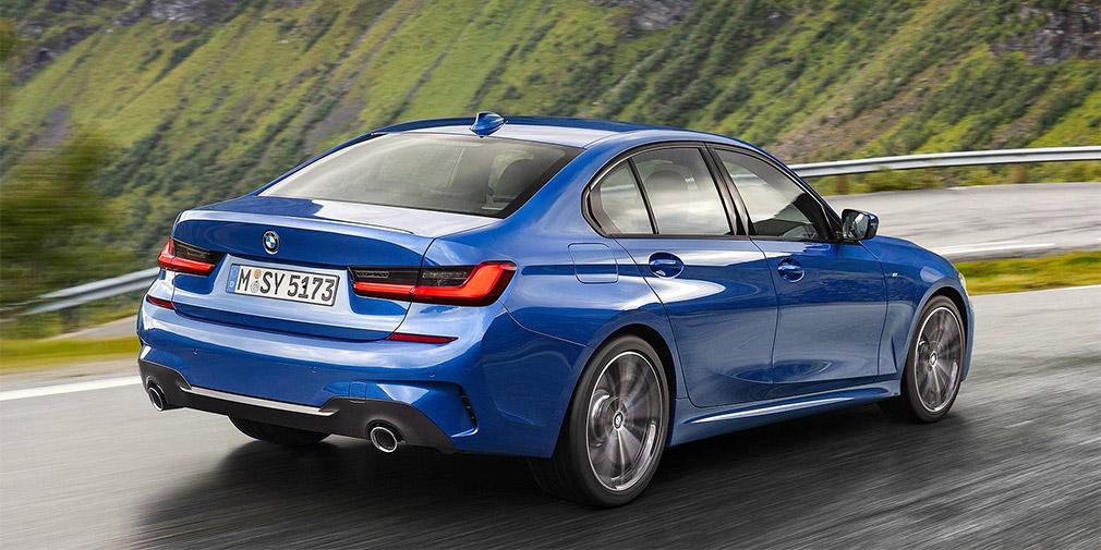 BMW официально объявила цены на новый седан BMW 3-серии
