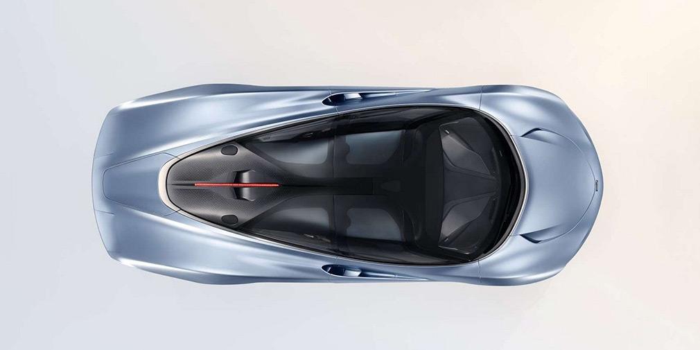 Появились первые фотографии быстрейшего гиперкара McLaren Speedtail