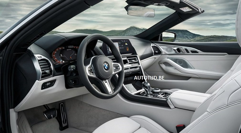 В Сети показали фото нового кабриолета BMW 8-Series