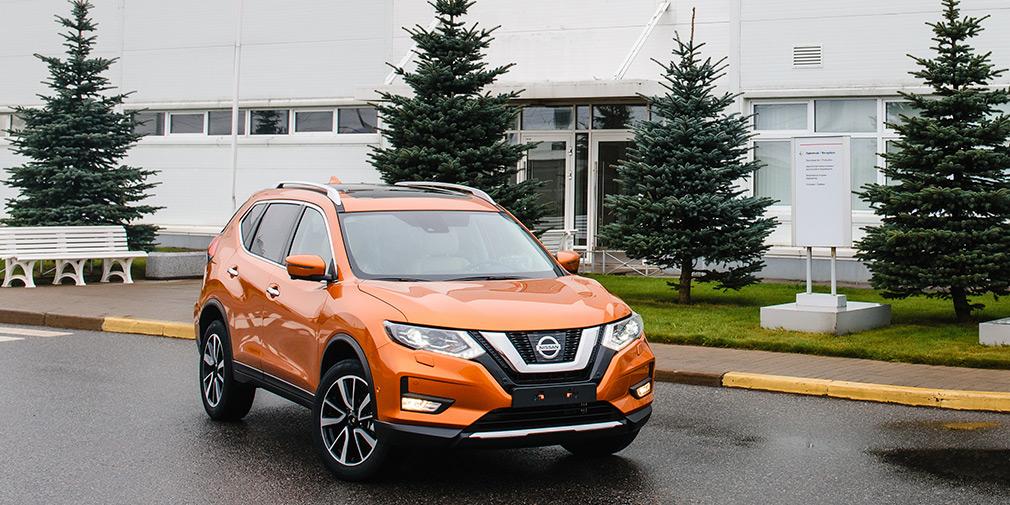 Компания Nissan рассказала о комплектациях нового X-Trail для РФ