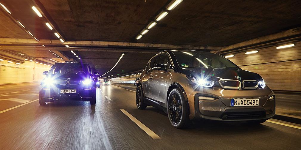 BMW назвала цены на новые электрокары i3 и i3s для РФ