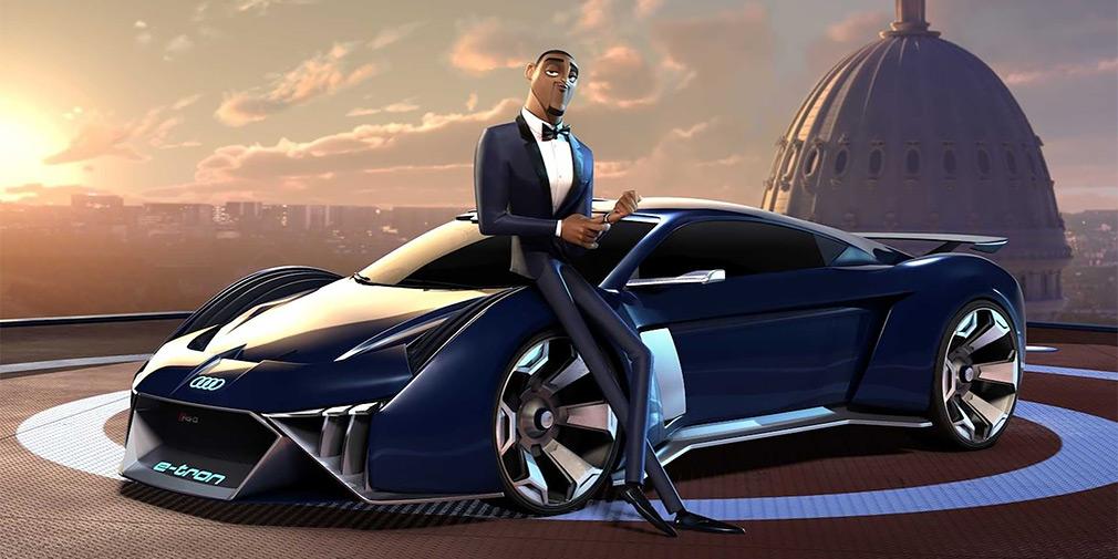 Audi сделала особый концепт-кар для мультфильма с Уиллом Смитом