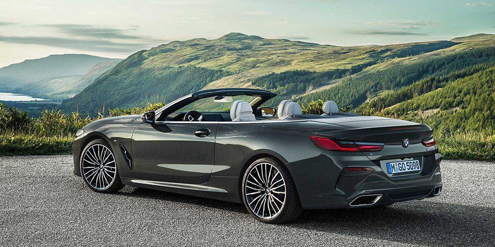 BMW назвала российские цены на новый кабриолет BMW 8-й серии