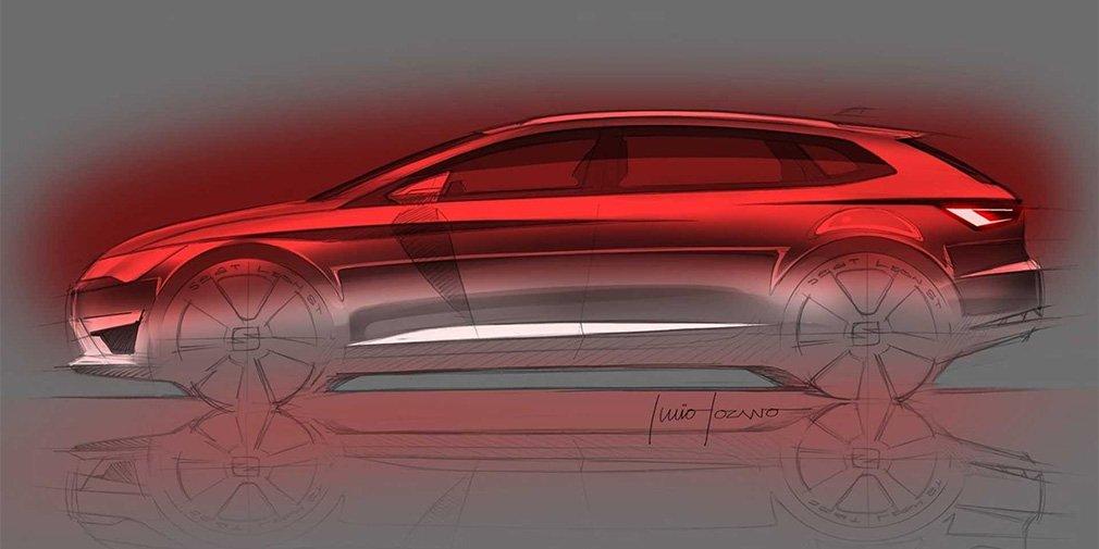 SEAT опубликовала первое изображение нового SEAT Leon Concept