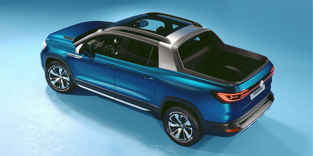 Volkswagen представил новый компактный пикап Volkswagen Tarok